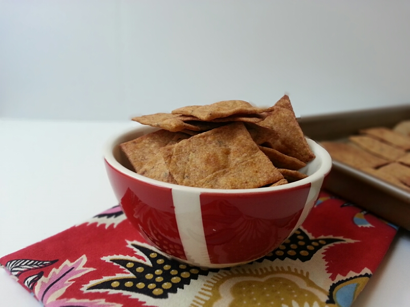 What's In Your Snack? + Homemade Wheat Thins - The Organic ...