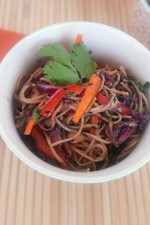 Soba Noodle Asian Salad 2