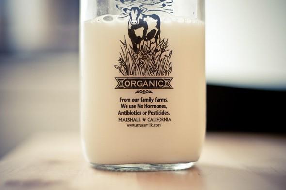 Каждая четвертая семья в Великобритании покупает органическое молоко