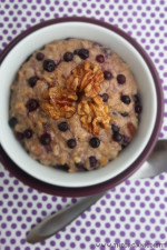 Blueberry Cobbler Oatmeal B