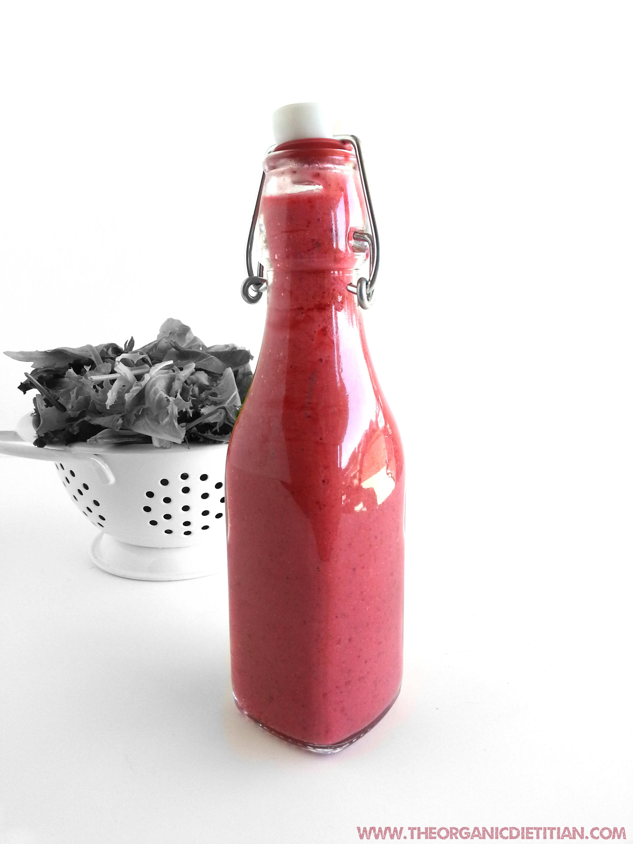 Raspberry vinaigrette A