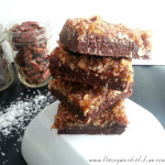 Raw German Chocolate Brownies 3