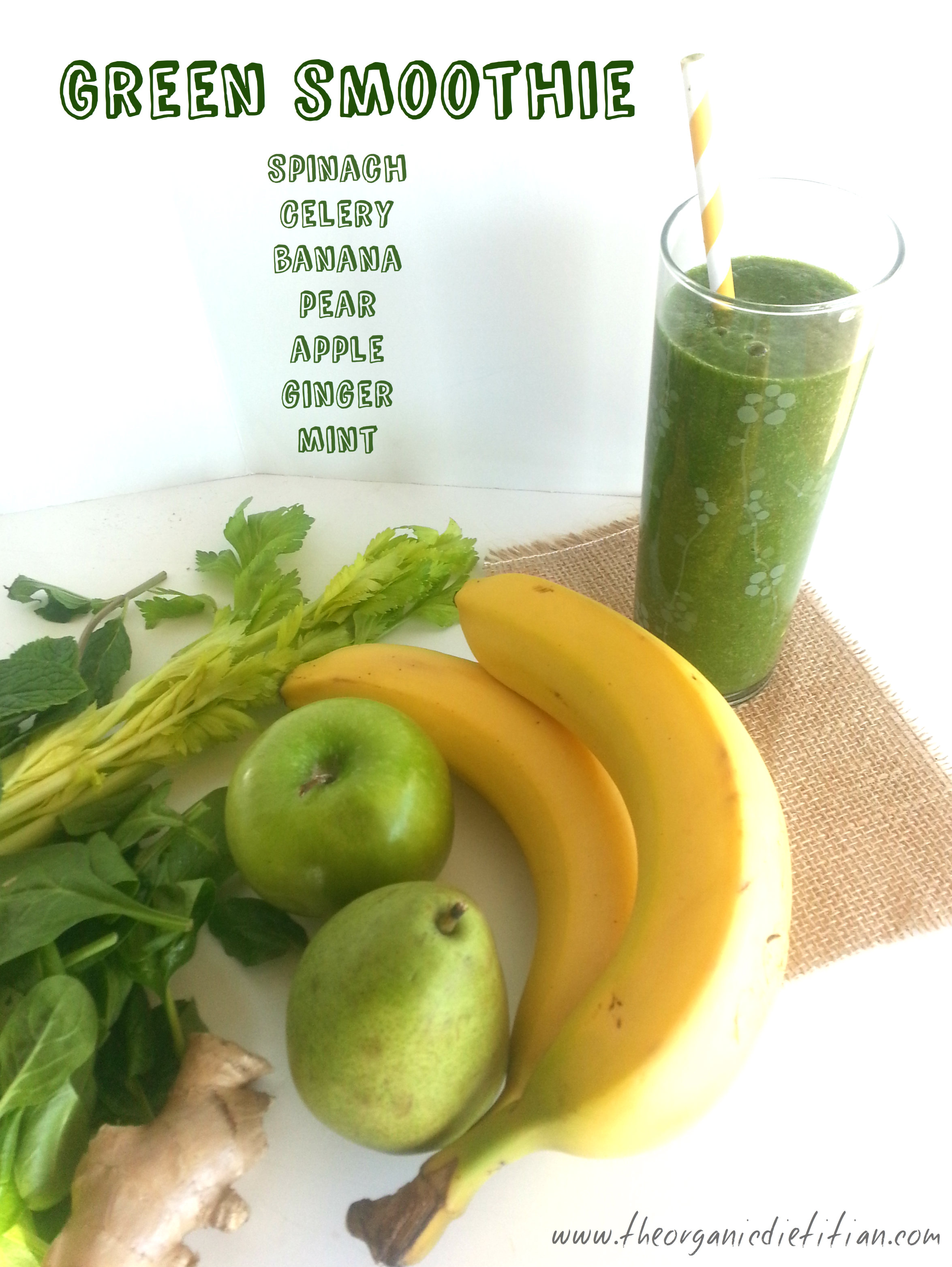 Get More Greens...Try A Green Smoothie Or Green Juice