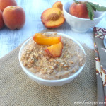 Peaches N Cream Overnight Oats 3
