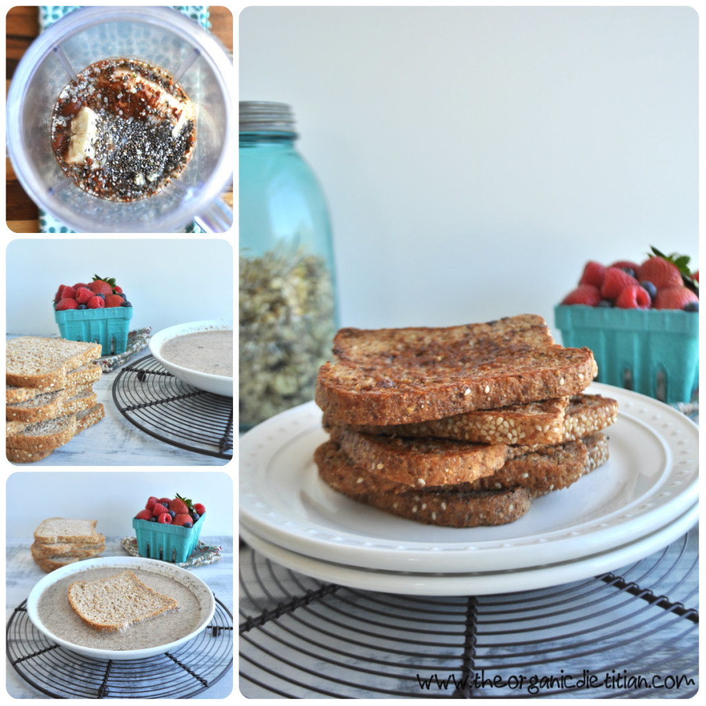 Vegan French Toast Steps