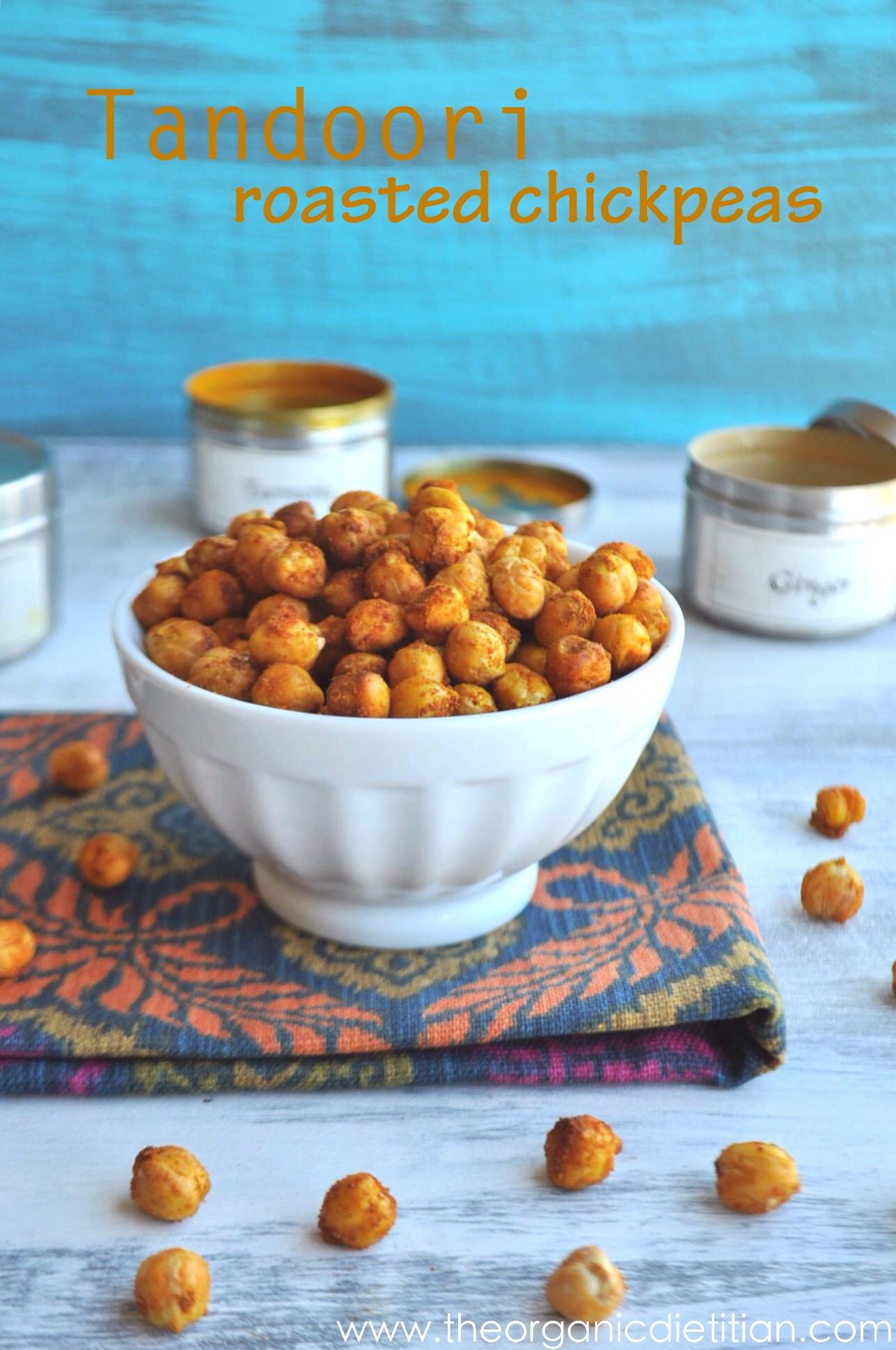 Tandoori Roasted Chickpeas – Recipesbnb