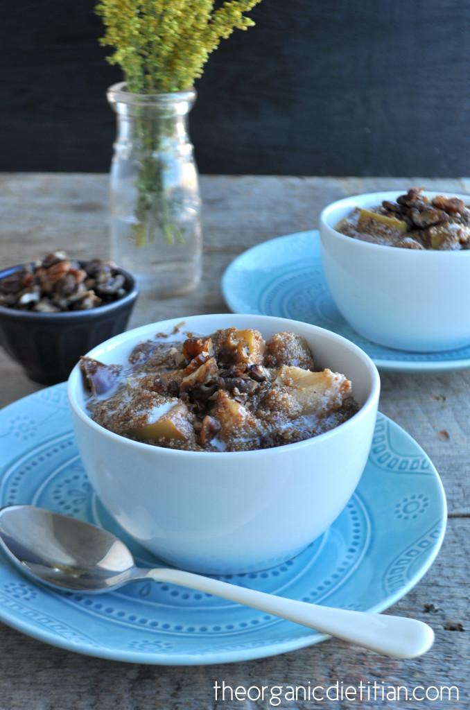Crock Pot Apple Pie Amaranth Porridge 8