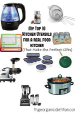 My Top 10 Kitchen Utensils for a Real Food Kitchen (That Make the Perfect Gifts)