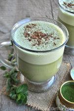 Peppermint Mocha Matcha Latte 2