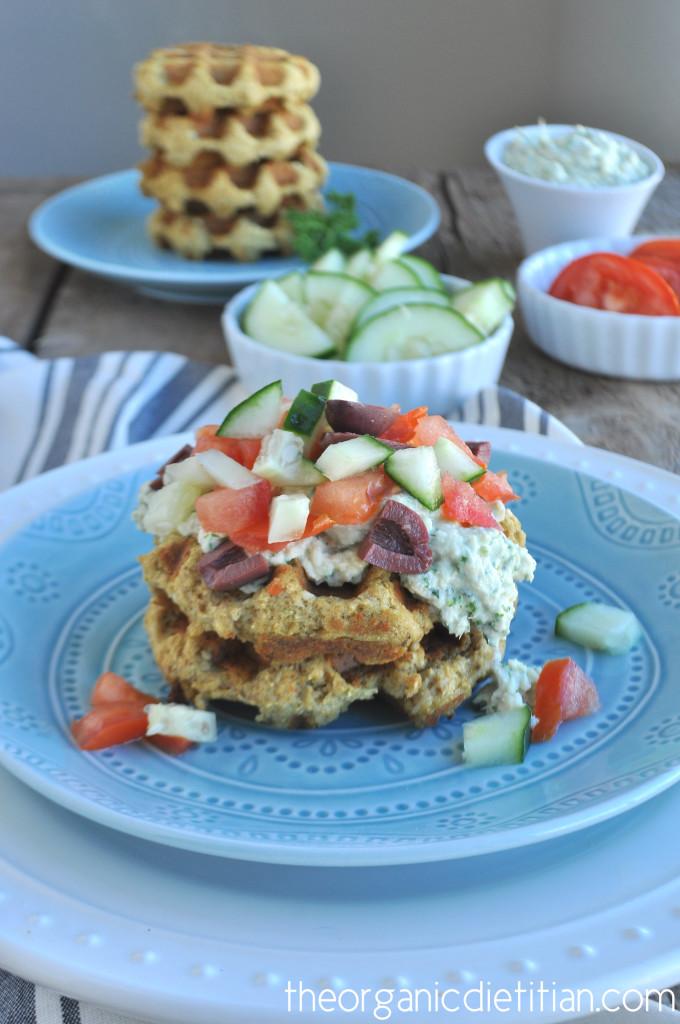 Fallafel Waffles 2