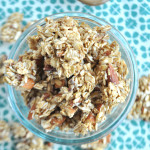 Homemade Granola, vegan, gluten free, way healthier then any store bought