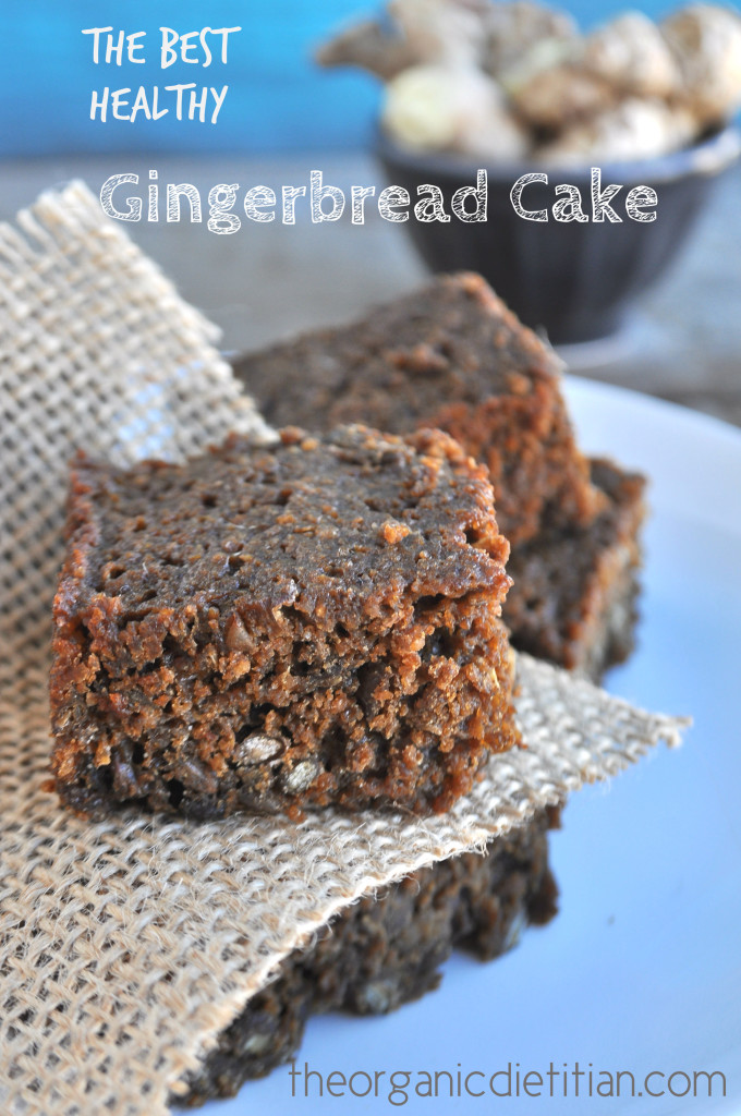 The Best Healthy Gingerbread Cake 4