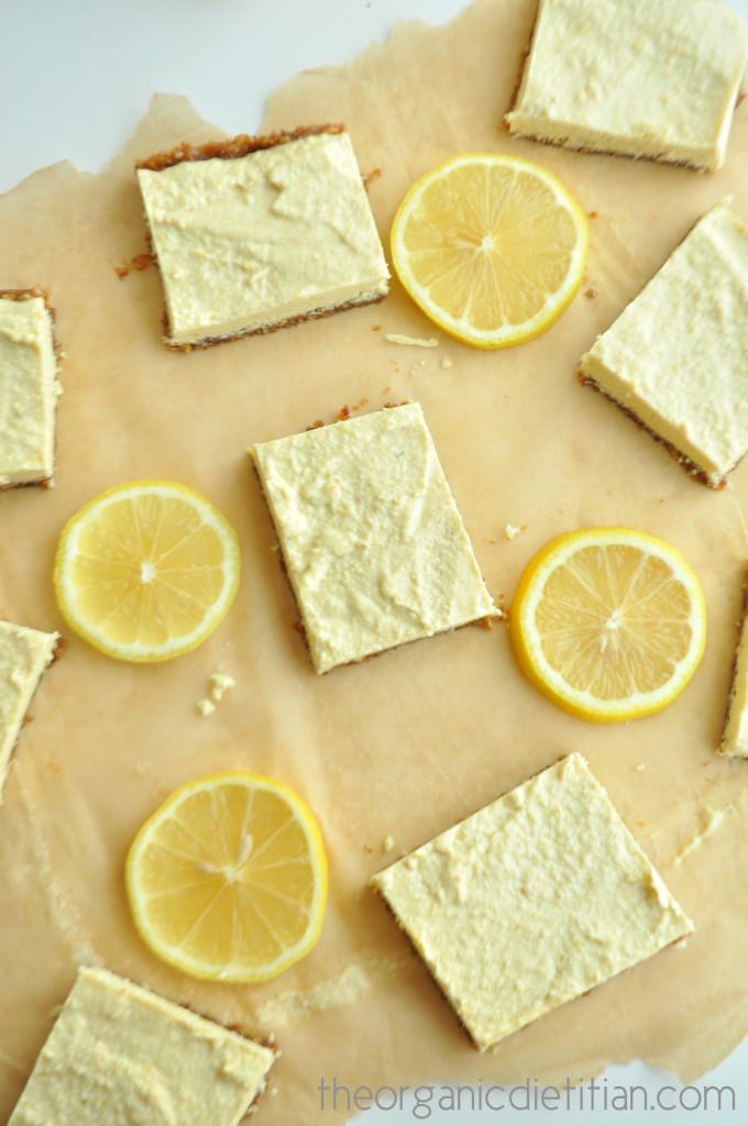 Lemon Bars (Raw, Vegan, Paleo) 3