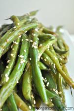 Sesame Glazed Green Beans 5