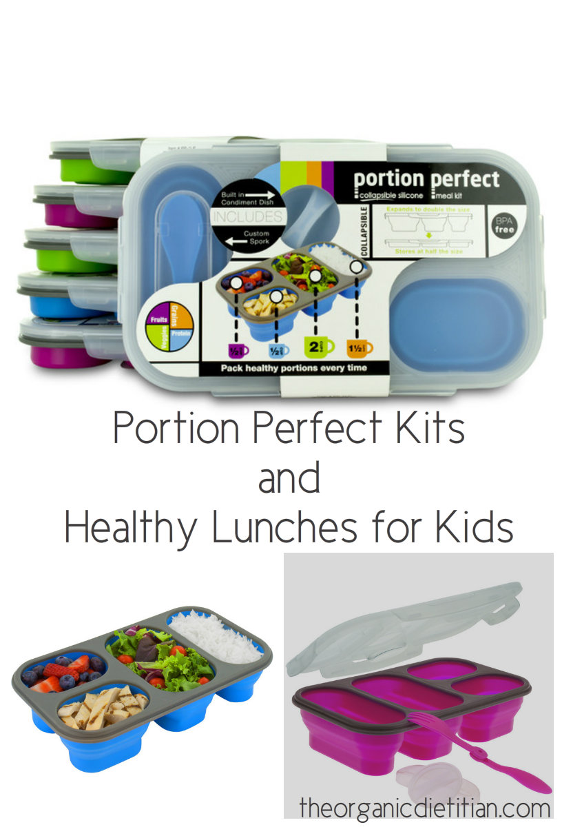 Portion Perfect Kits and Healthy Lunch Ideas for Kids - The Organic ...