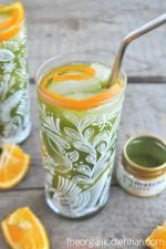 Orange Matcha Iced Tea 3