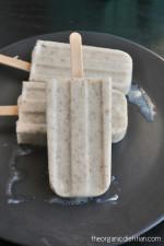 Coconut Vanilla Popsicles