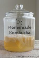 DIY Homemade Kombucha