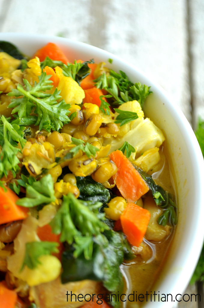 Mung Bean Stew with Turmeric Broth 3