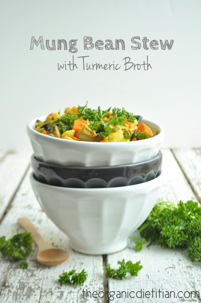 Mung Bean Stew with Turmeric Broth 5