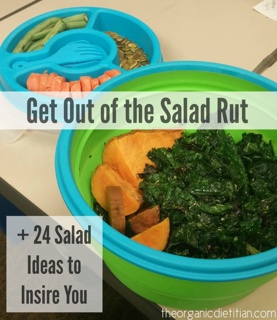 Get Out of the Salad Rut + 24 Salad Ideas to Inspire You