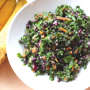 banana-ginger-kale-salad