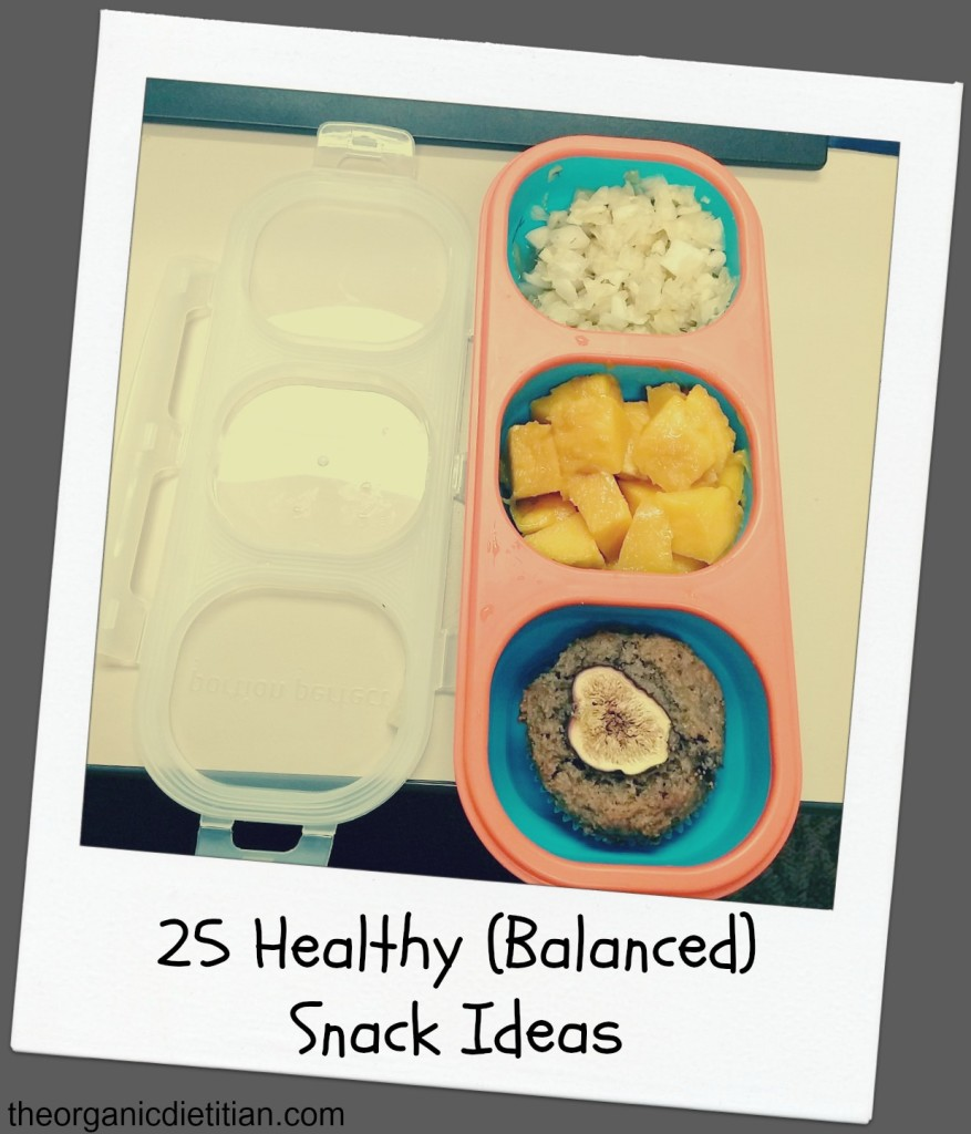 25 Healthy Balanced Snacks