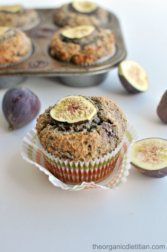 Gluten Free Fig Muffins (with Real Ingredients)