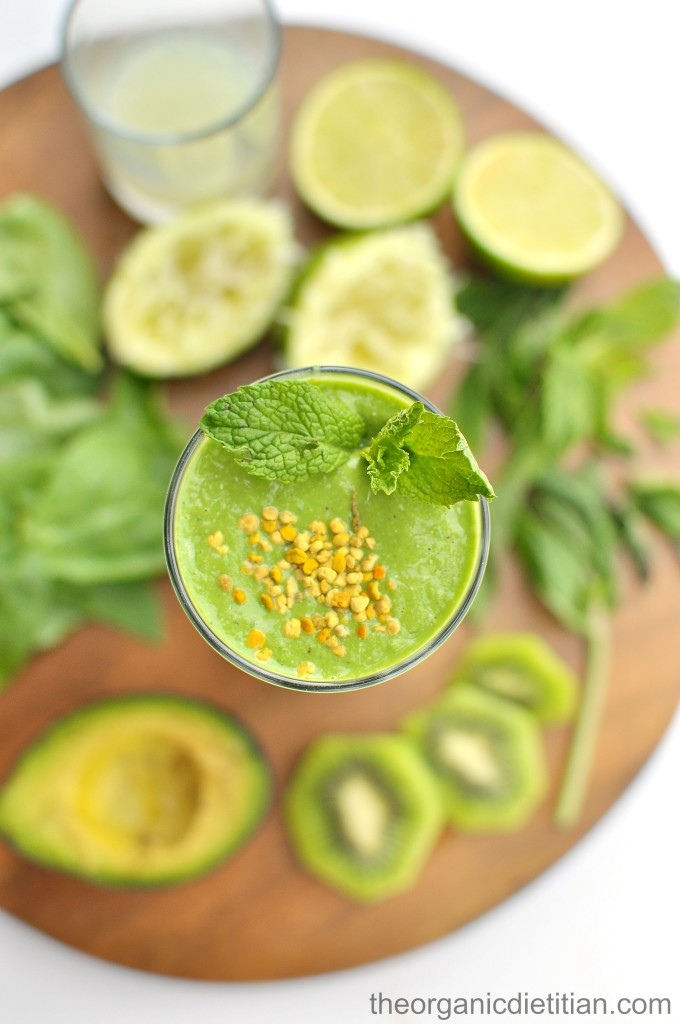 Green Monster Mojito Smoothie 2