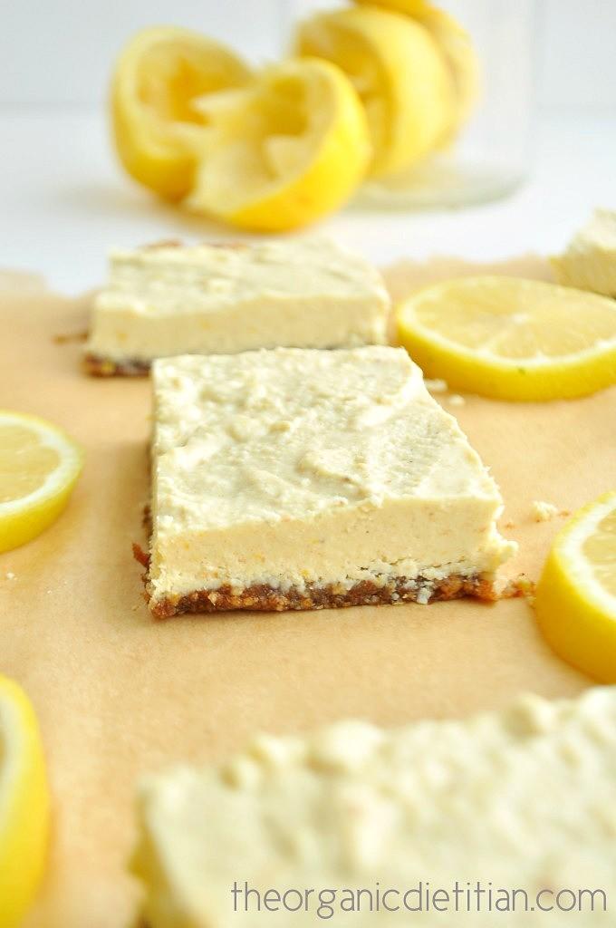 Lemon Bars (Raw, Vegan, Paleo) 2