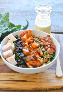 Fall Cobb Kale Salad 3