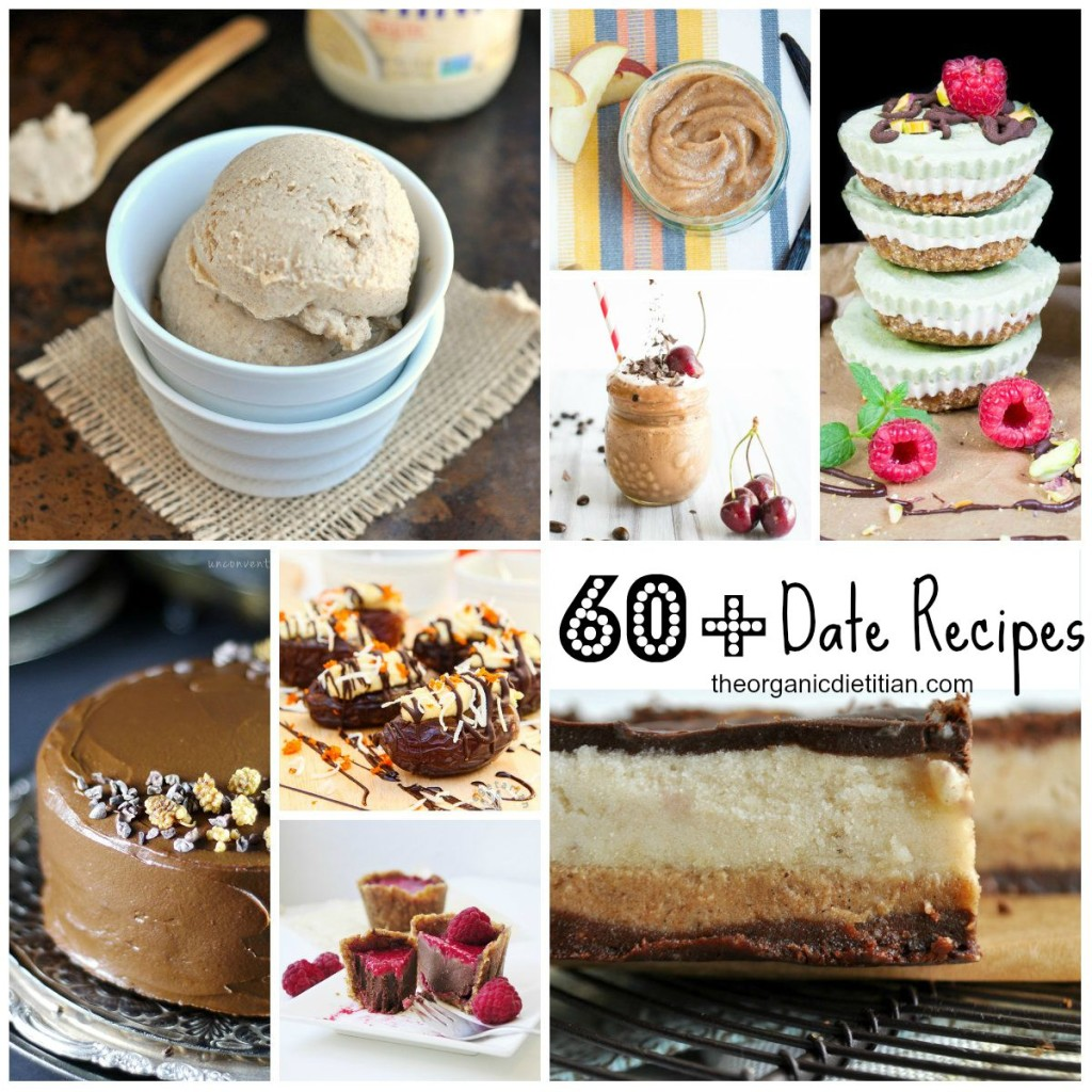 60+ Date Recipes Roundup