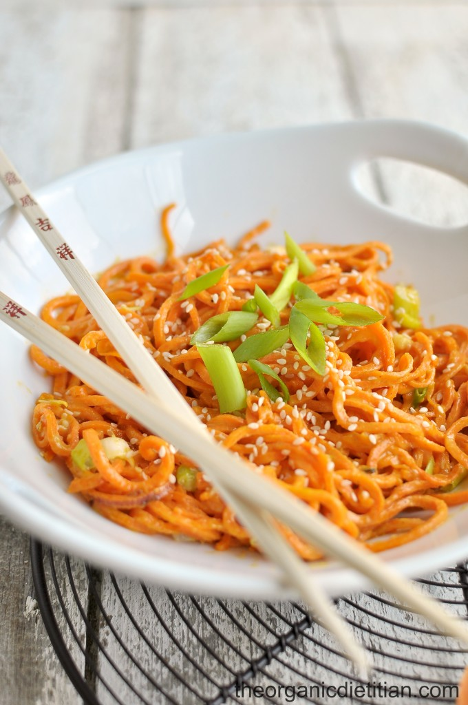 Sesame Sweet Potato Noodles 2