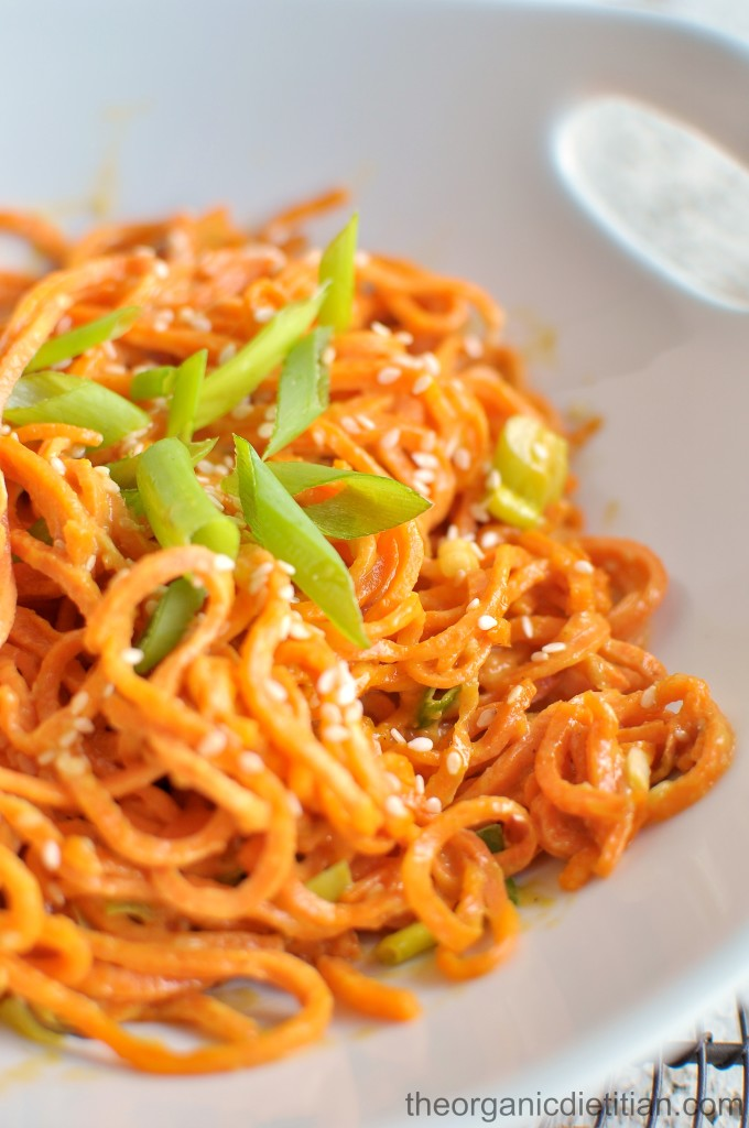 Sesame Sweet Potato Noodles 4