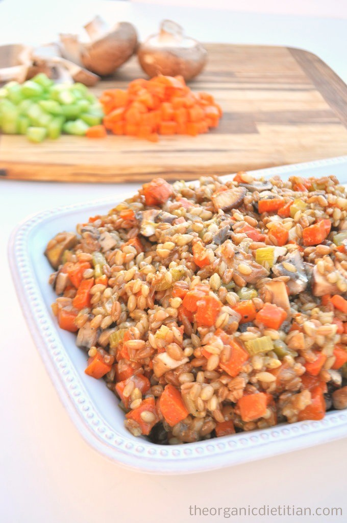 Breadless Stuffing