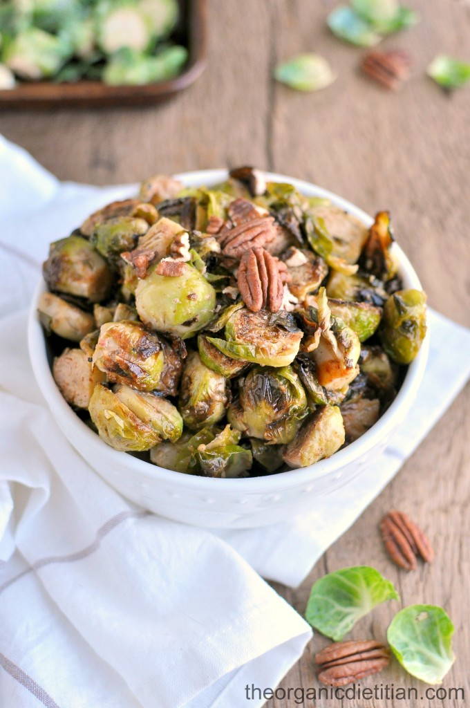 Roasted Brussels Sprouts with Honey Mustard 4