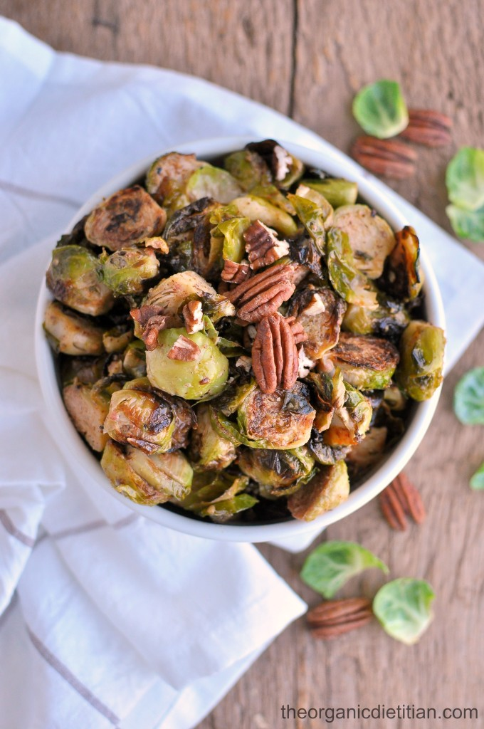 Roasted Brussels Sprouts with Honey Mustard 5