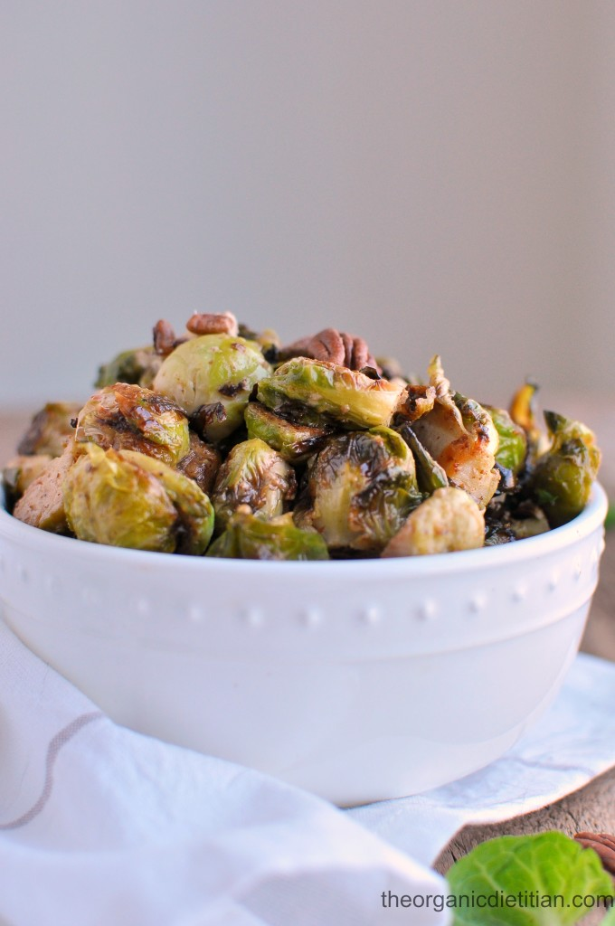 Roasted Brussels Sprouts with Honey Mustard 6