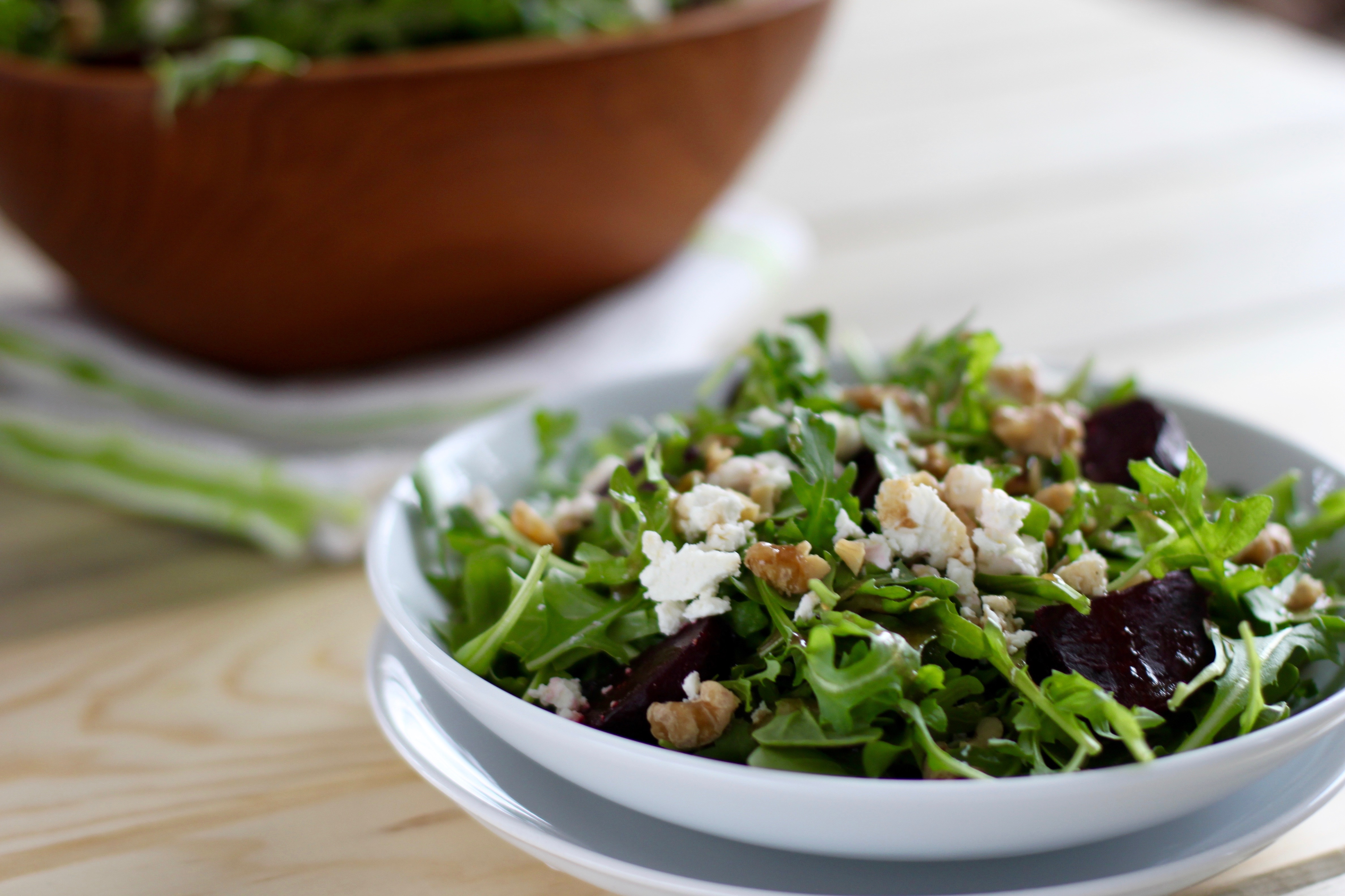 Roasted Beet and Arugula Salad: Guest Post - Simply ...