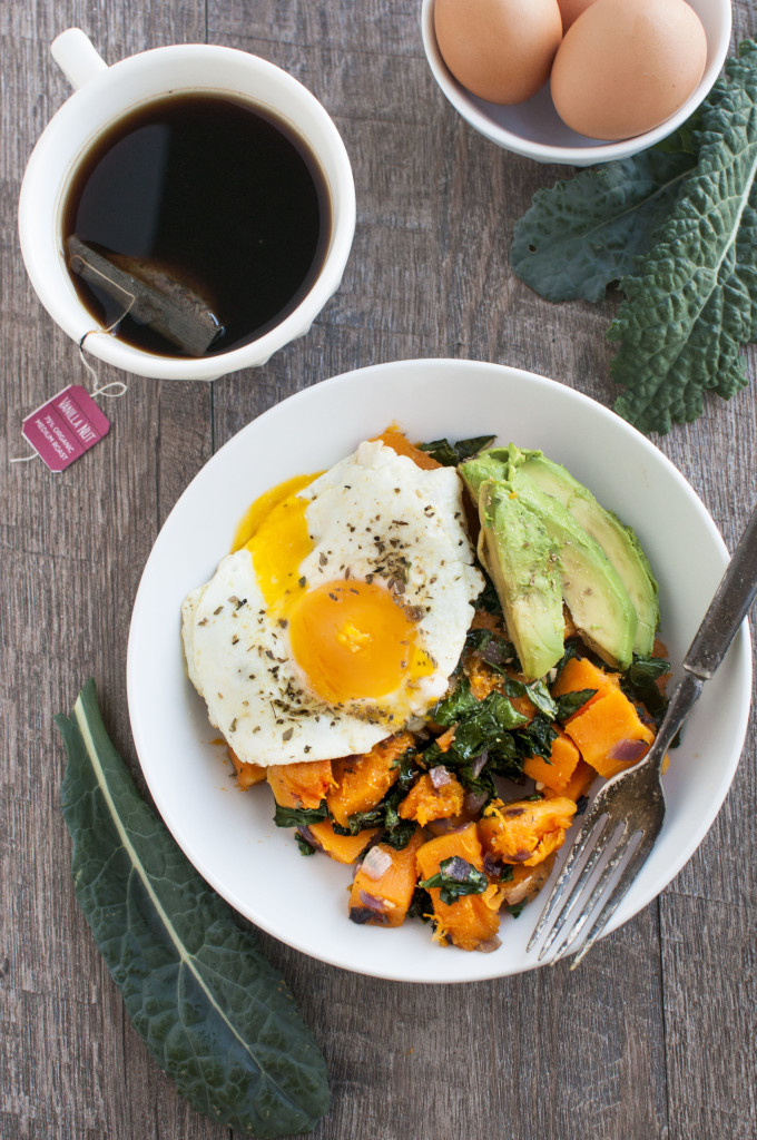 Butternut and Kale Breakfast Bowl 2