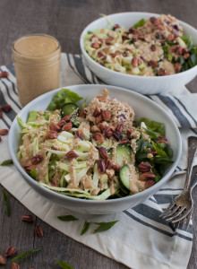 Tuna Salad with Peanut Dressing