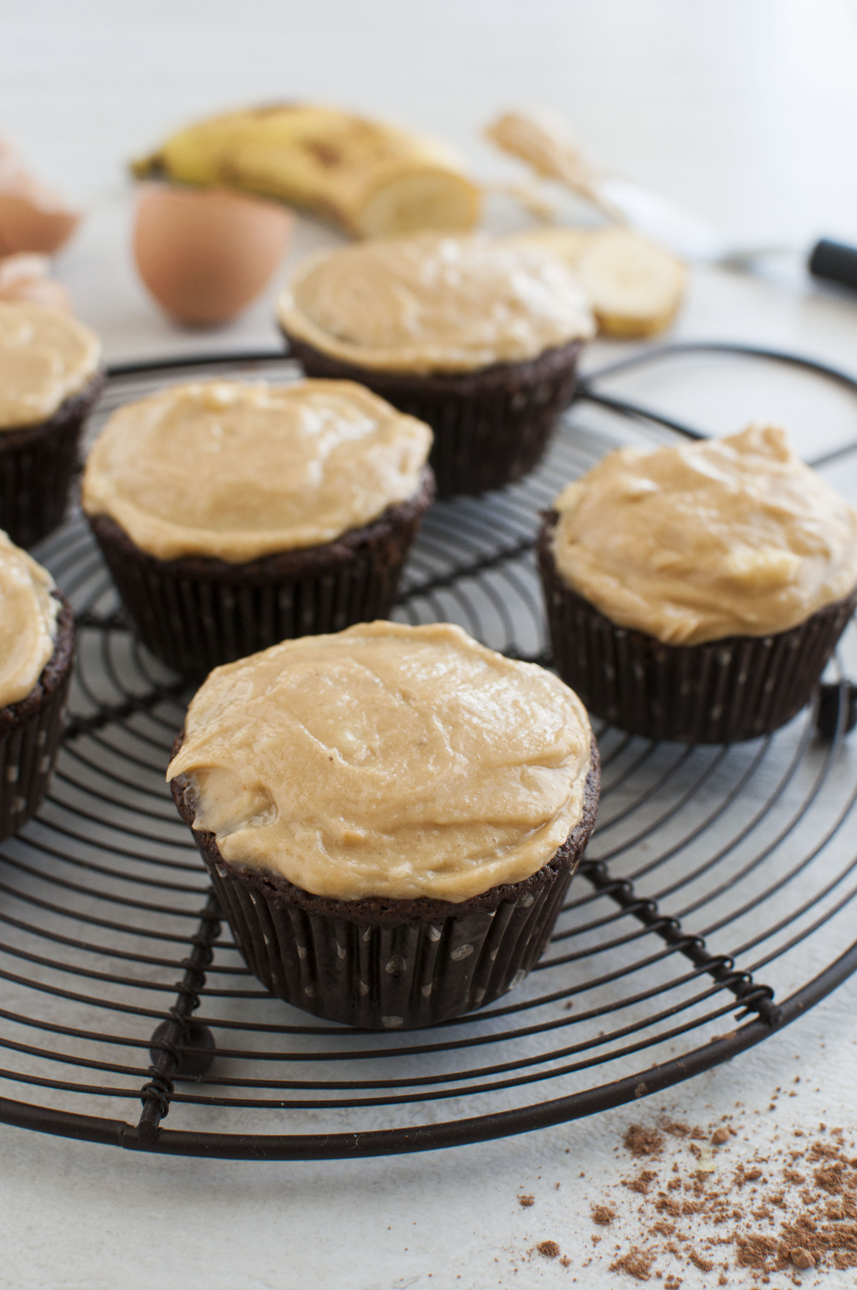 gluten free peanut butter cupcakes