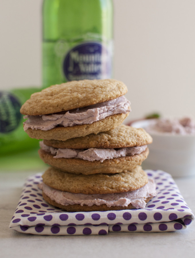 Berry Whoopie Pies