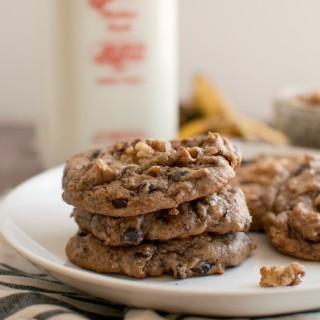 Flourless Chunky Monkey Cookies