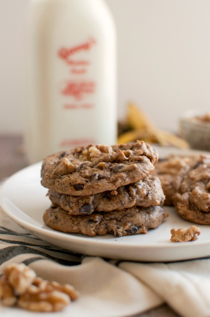Flourless Chunky Monkey Cookies