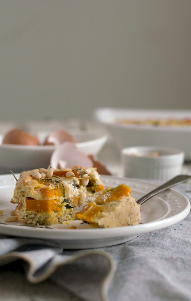 Kabucha Squash Egg Quiche #paleo #glutenfree #brunch #breakfast