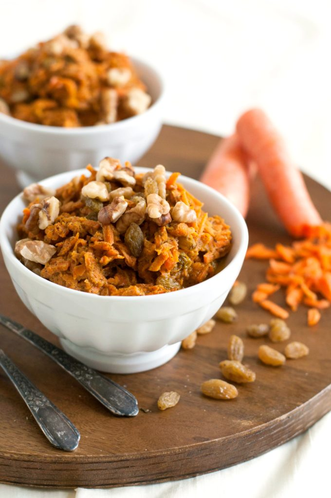 Carrot Pudding (Paleo, Vegan, No Added Sugar)