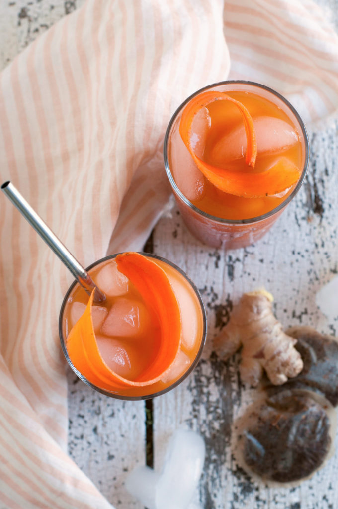 Carrot Ginger Chai Iced Tea: Yummy Drink Packed with ...