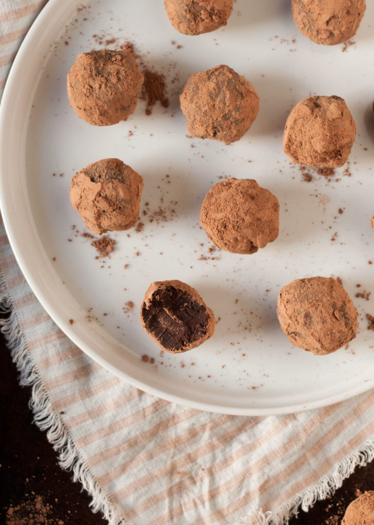 Chinese Five Spice Chocolate Truffles - The Organic Dietitian
