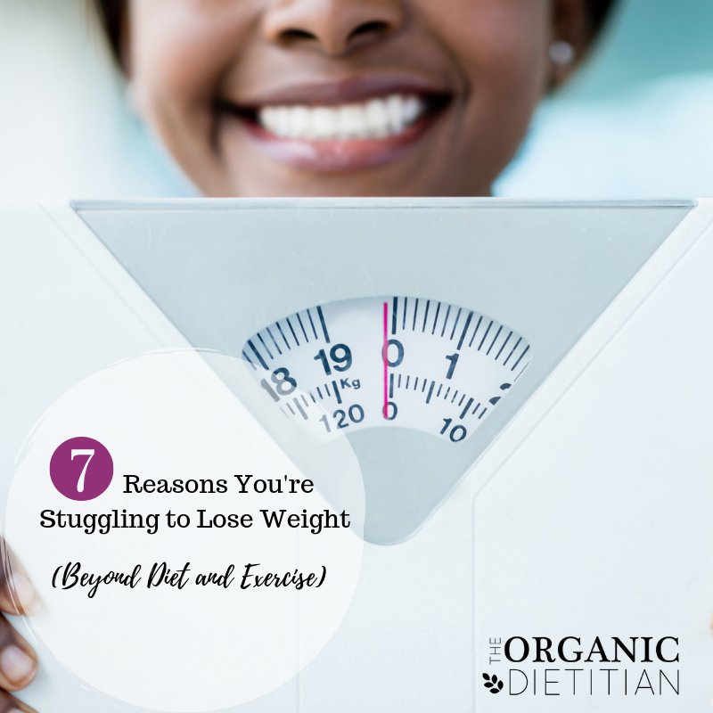 7 Reasons You're Struggling to Lose Weight - The Organic
